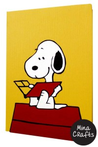 snoopy front